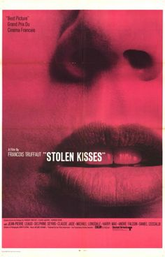 Stolen Kisses, 1968 - Love late 60s movie posters