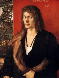 Paintings Reproductions Durer, Albrecht Portrait of Oswald Krel