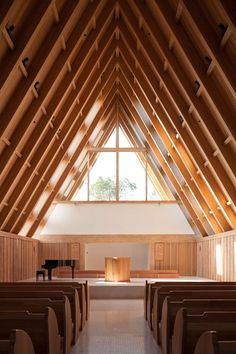 Nestled In A Wooded Environment Hangzhou China The Mei Li Zhou Church Seamlessly Merges