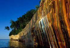Pictured Rocks National Lakeshore, Upper Peninsula of Michigan