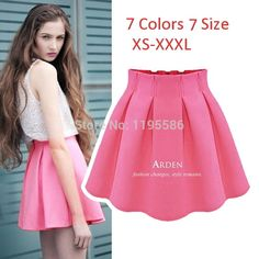 Women's Fashion Sexy Mini Skirt High Waist Pleated Short Skirt For Female 2015 Summer Ladies Casual Tutu Skirts saias Femininas