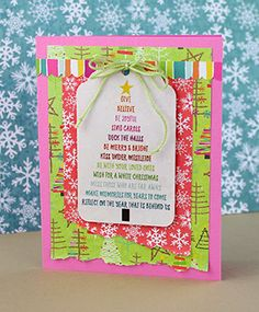 Links to PDF instructions for this card. Snowball Fight, Christmas Inspiration, Diy Cards, Diy Christmas, Pdf, Paper, Frame, Crafts, Picture Frame