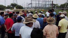 Toman parque eólico en Juchitán.