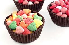 chocolate cupcake liners
