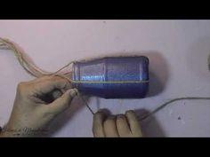 (383) Falso esmerilado de color. Yute. Diy. Fábrica de Manualidades - YouTube Mason Jars, Diy, Color, Glass, Jute, Jars, Bricolage, Colour, Mason Jar