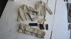 Vintage Ken Air Force Army Clothes Set with extra Jacket by CraftySara on Etsy