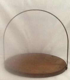 Vintage Copper Tray with Folding Handle by ContemporaryVintage
