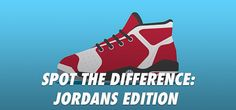 QuizDiva – Spot the Difference: Jordans Edition Quiz Answers