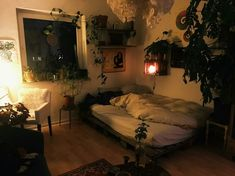 True blazed boho chic home ideas more tips here Room Design Bedroom, Room Ideas Bedroom, Bedroom Decor, Pretty Room, Cozy Room, Aesthetic Bedroom, Dream Rooms, My New Room, House Rooms