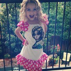 CelebrityHauteSpotMckenna Grace Rocks Her Shirley Temple Dress!