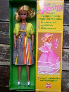 Vintage Karina Busch German Barbie DDR GDR Doll