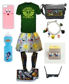 """""""Ultimate Gamer Outfit"""" by pokemaster0304 on Polyvore featuring Ozone, CellPowerCases and Nintendo"""