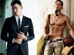 Channing Tatum. Wow.
