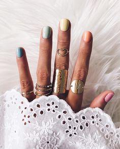 home accessories pink federxca - Nageldesign - Nail Art - Nagellack - Nail Polish - Nailart - Nails -. Spring Nails, Summer Nails, Fall Nails, Cute Nails, Pretty Nails, Hair And Nails, My Nails, Nails Kylie Jenner, Boho Vintage