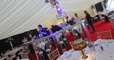 Circular mirror bar - #marqueehireuk #marqueehire #Notts #Derby #Leicester #weddings #corporate #events