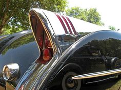 1950's buicks. Could be a Buick but looks like the fin to a 53 Corvette