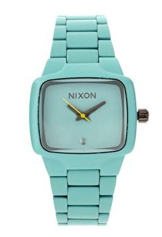 watch, fashion, aqua, teal, blue