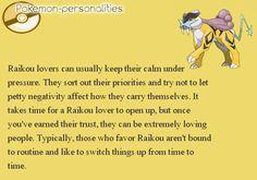 9) Raikou-Kinda me, lol