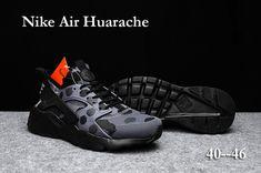 half off 62f86 b2425 Nike Women Shoes Discount - Nike Air Huarache Run Ultra PK4 Men Shoes Gray  Black New