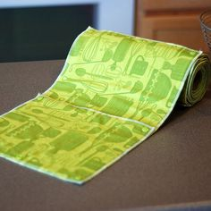 NEW  Reusable Eco Friendly Snapping Paper Towel Set  by mamamade.  This is great!