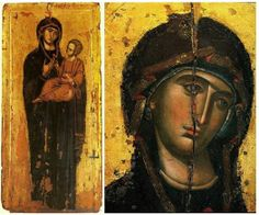 Theotokos Byzantine Art, True Art, Sacred Art, Religious Art, Virgin Mary, Archaeology, Madonna, Art History, Marvel
