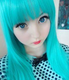 Living doll makeup| Doll girl Venus Angelic| Harajuku wedding ideas