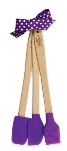 Mini Silicone Kitchen Tool Set - Spatula, Spoonula and Pastry Brush (Grape) Brownlow Gifts,http://www.amazon.com/dp/B00I9QMLV8/ref=cm_sw_r_pi_dp_RdYktb1VB0HPHPCV