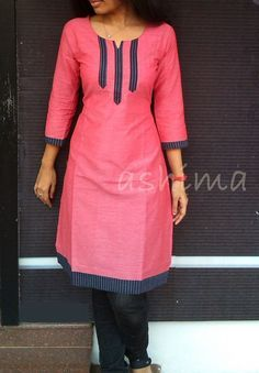 African fashion is available in a wide range of style and design. Whether it is men African fashion or women African fashion, you will notice. Salwar Neck Designs, Kurta Neck Design, Dress Neck Designs, Kurta Designs Women, Blouse Designs, African Print Dresses, African Fashion Dresses, African Dress, Fashion Outfits