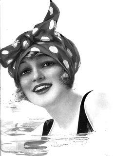 Polka dot kerchief, 1921