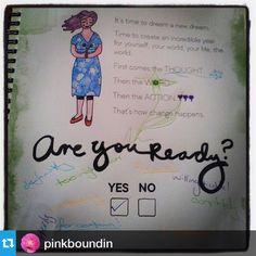 Are you ready? @pinkboundin is! #2015workbook #planner #bizplanning #goals #bestyearyet www.2015workbook.com