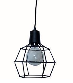 Bestel de Zwarte, industriële hanglamp Faysel op Lampgigant.nl ✓ Snel gratis…