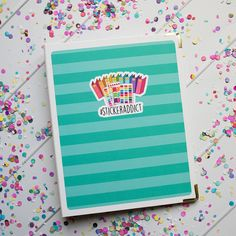 Binder Cover Sticker Set  StickerAddict Aqua Two-Tone