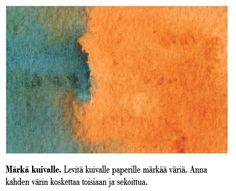 Nina Mutik » Blogin arkisto » 35 akvarellitekniikkaa