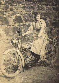 Female Harley Rider