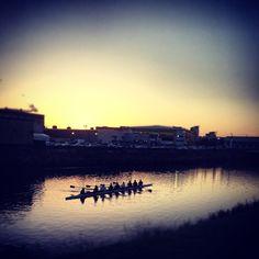 Boats at Dawn @ River Taff #CaptureCardiff