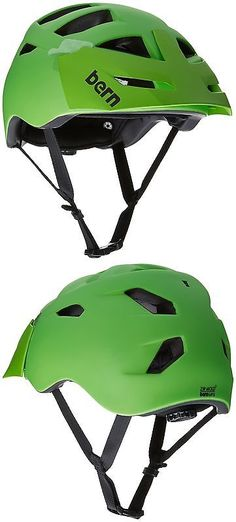 a3478e0bf5c Hats and Headwear 159078  Bern Unlimited Morrison Helmet With Green Visor  Matte Neon Green Large