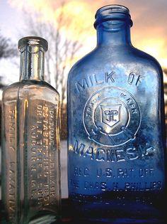 old bottles #housebeautiful and #dreamlivingroom