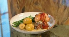 Mary Berry chicken thighs stuffed with sausage meat and lemon sauce recipe on Saturday Kitchen | TV Foods - this is utterly awesome!!