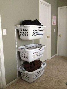 Oversized Chrome Laundry Hamper | Laundry hamper, Laundry and Hampers
