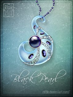 Amulet - Black Pearl by Rittik.deviantart.com on @deviantART
