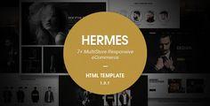 Hermes - Multi Store Responsive HTML Template