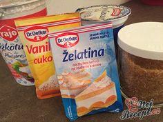 Jednoduchý mléčný dezert, připraven za pár minut. Děti si pochutnají a co je nejdůležitější - víte z čeho jste dezert připravili a neobsahuje žádné neznámé, zdraví škodlivé látky. Snack Recipes, Snacks, Chips, Bread, Food, Sweet, Snack Mix Recipes, Candy, Appetizer Recipes