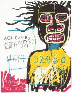 rerylikes: Jean-Michel Basquiat, Self Portrait, 1982 (via les-jolies-choses:la-ritournelle)