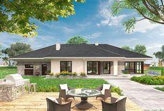 Projekt domu Berenika - murowana – ceramika 135,3 m2 - koszt budowy - EXTRADOM