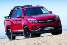 The all-new SsangYong Musso which is the Rexton SUV based pickup has been launched in the UK. Musso means Rhino in Korean is a 5 seater pickup Homemade Baby Gifts, Thing 1, Tonne, All Cars, Free Baby Stuff, Pick Up, Pickup Trucks, About Uk, Crochet Baby