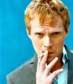 Paul Bettany-Love this actor,and he looks exactly like my little brother! Oliver Jackson Cohen, Drawing Poses Male, A Knight's Tale, Paul Bettany, The Libertines, Freckle Face, Hooray For Hollywood, Jennifer Connelly, Raining Men
