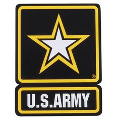 US Army Star 11.5 inch Large Auto Magnet New