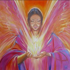 A Crystal Angel... new on my website!...jane taylor