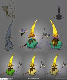 Concept Arts do game Gigantic, do estúdio Motiga | THECAB - The Concept Art Blog