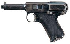 Rare Documented Union Fire Arms Company Semi-Automatic 38 Caliber Prototype Reifgraber Patent Pistol